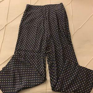 Anthropologie Flowy Pants